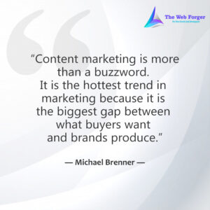 Content marketing is more than a buzzword. It is the hottest trend in marketing because it is the biggest gap between what buyers want and brands produce.